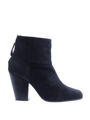 Newbury suede boots