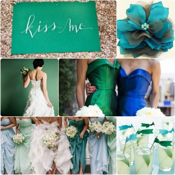 Top 6 fall wedding color combinations bridesmaid dresses for Best wedding color combinations