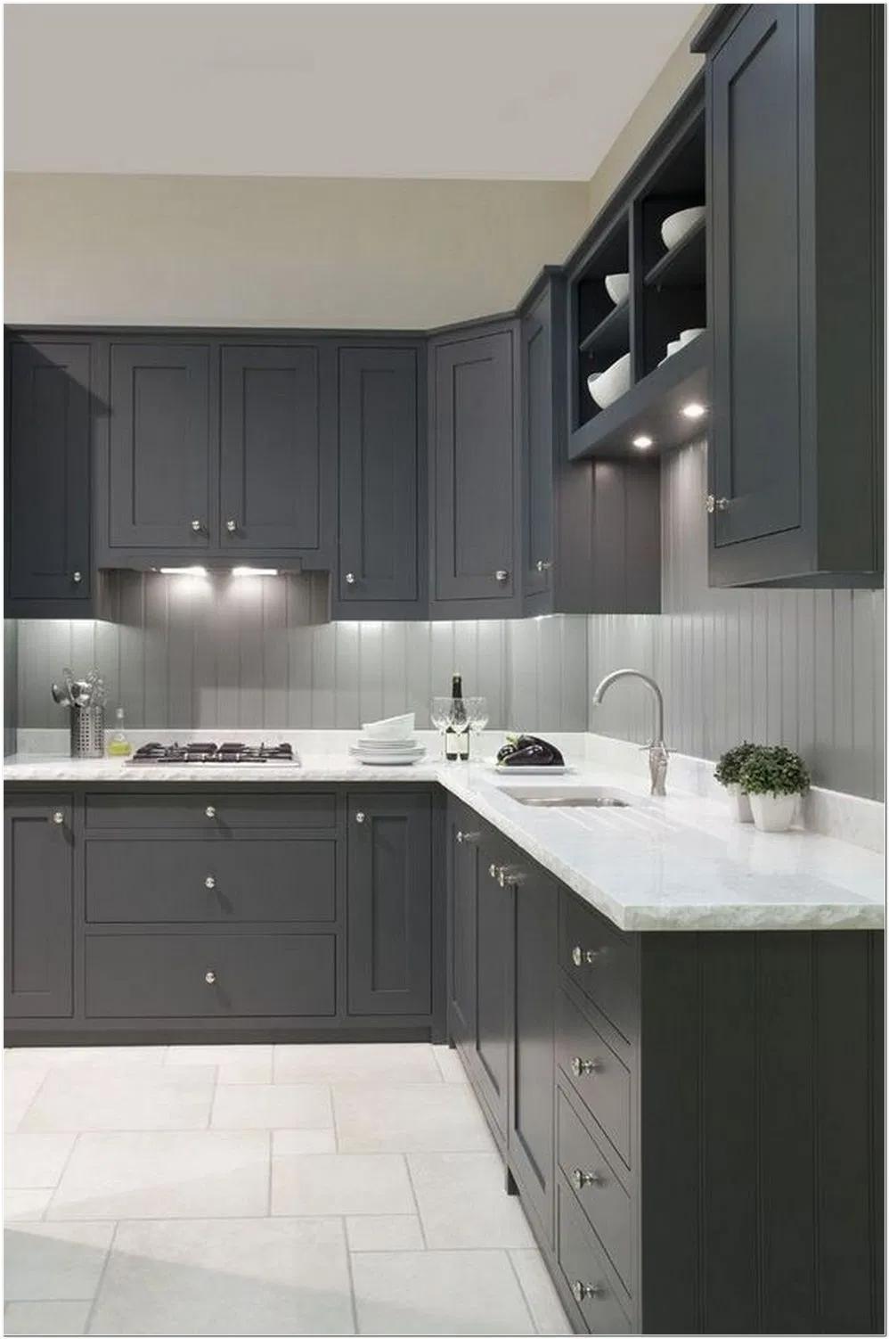 35+ Dark gray shaker cabinets diy