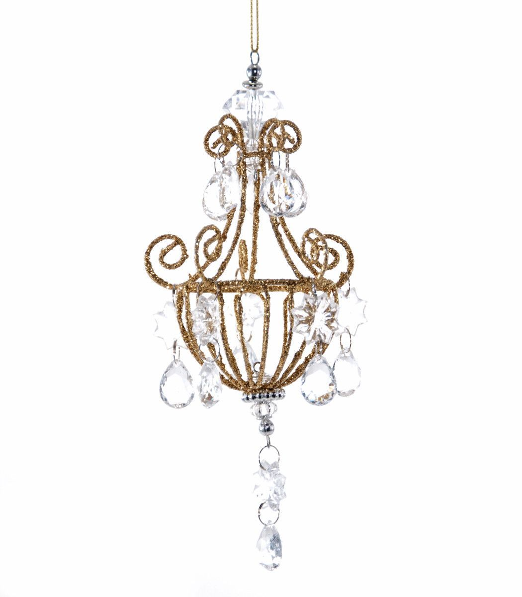 Katherines collection royal white christmas collection twenty katherines collection royal white christmas collection twenty four 65 small crystal chandelier ornaments free arubaitofo Gallery