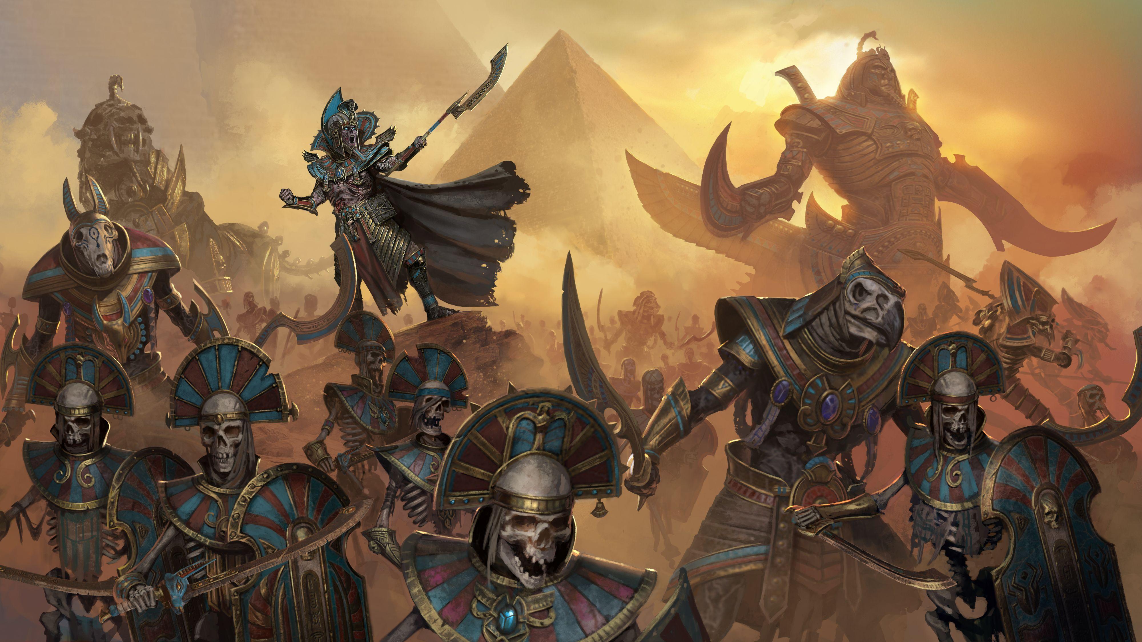 Total War Warhammer 2 Tomb Kings By Diegogisbertllorens