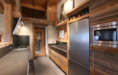 Chalet Kitchen | Chalet contemporain, Cuisine design moderne ...