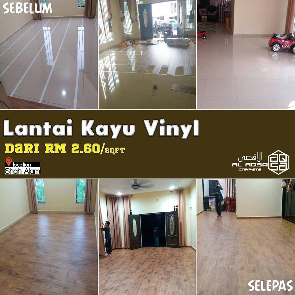 FREE POSTAGE PENINSULAR MALAYSIA Beli Lantai Kayu Vinyl