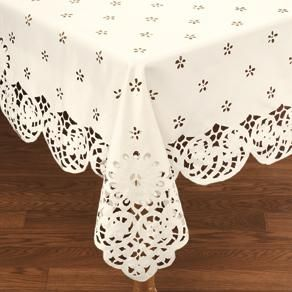 Daisy Lace Tablecloth