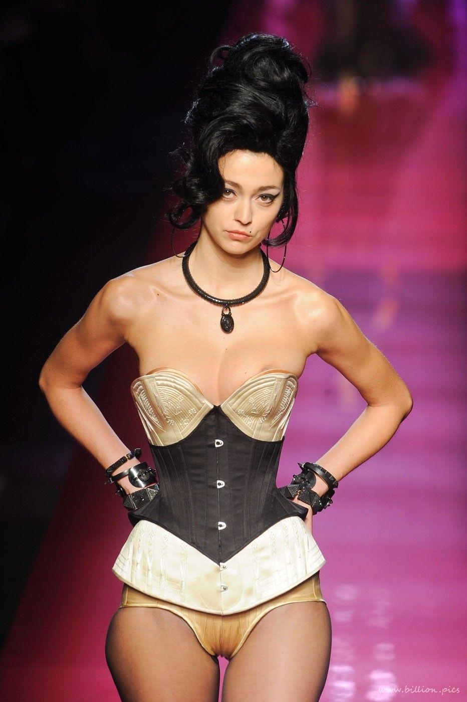 Top models catwalk