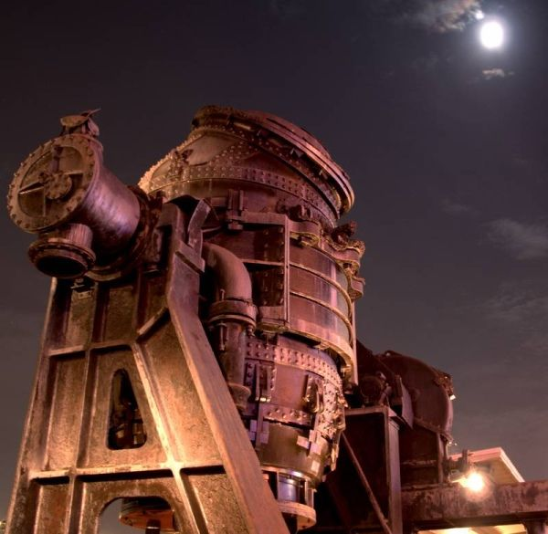 Nice photo of a Bessemer Converter. Would make lovely illustration.