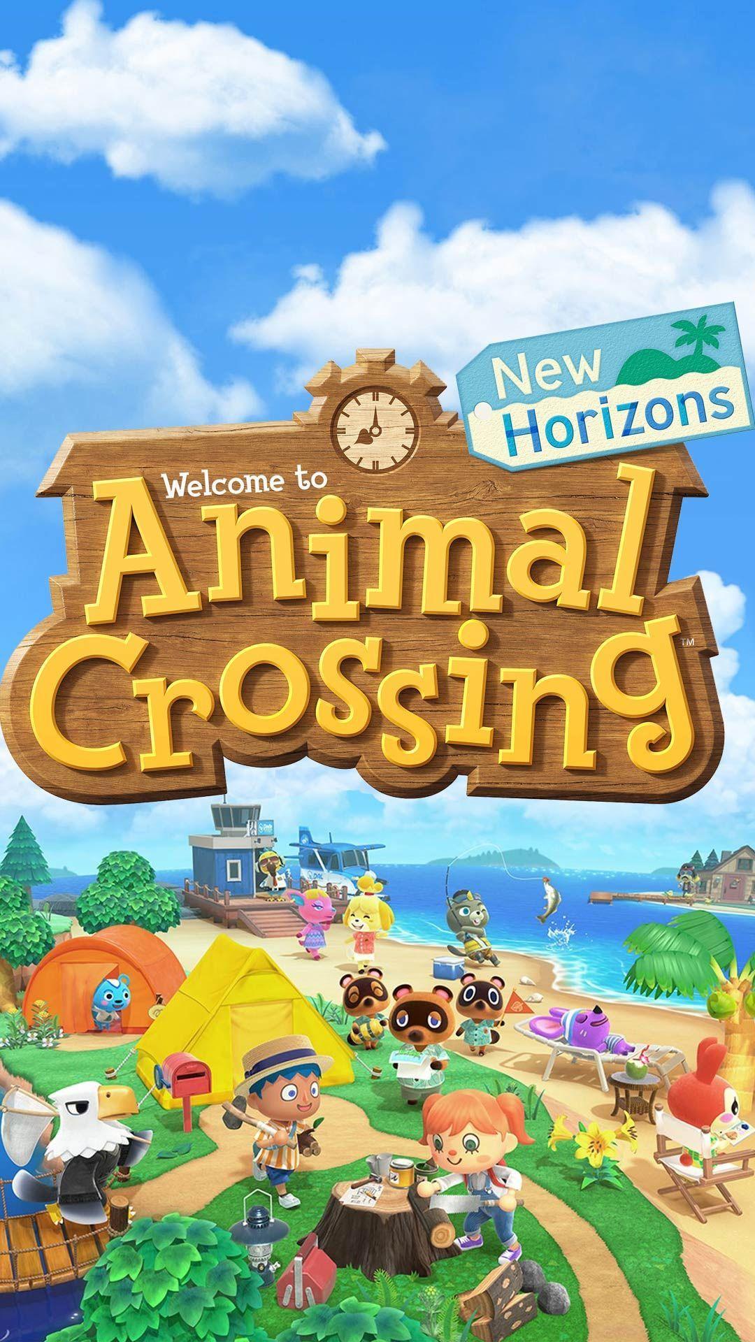 animal crossing new horizons wallpaper