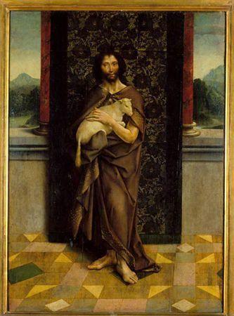 Frei Carlos – Bom Pastor, cerca de 1520, Óleo sobre madeira, 90x65 cm | Museu Nacional de Arte Antiga, Lisboa