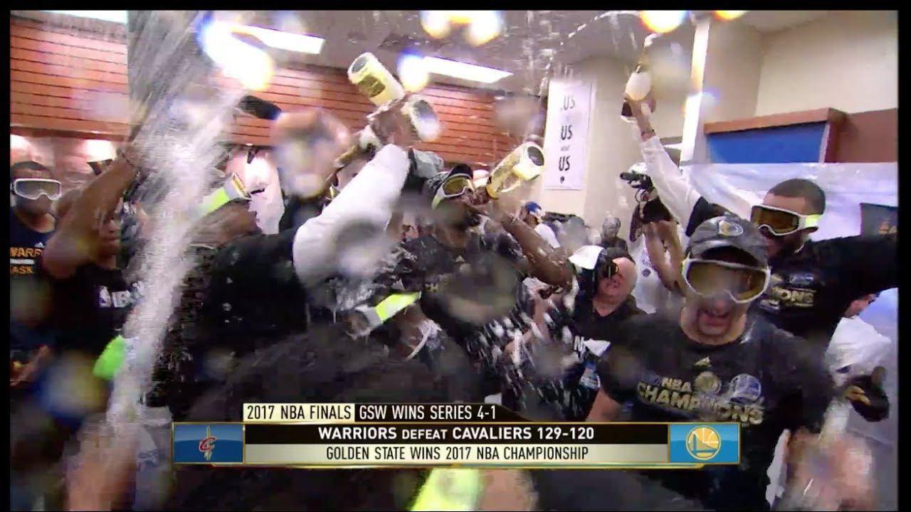 Golden State Warriors - Locker Room Celebration | Jun-12-17 | 2017 ...