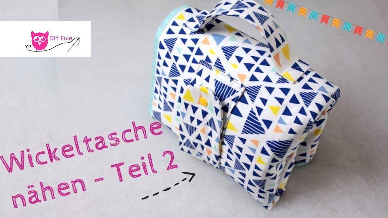 DIY Eule Wickeltasche / Windeltasche selber nähen Teil