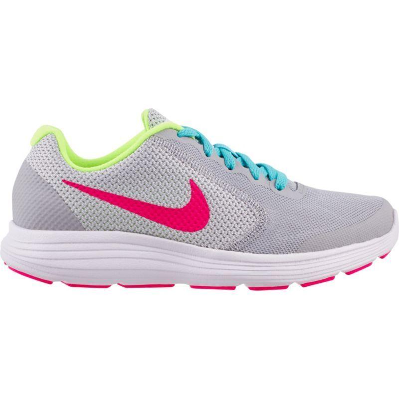 nike bambini elementari rivoluzione 3 scarpe da corsa, ragazza, dimensioni: 4