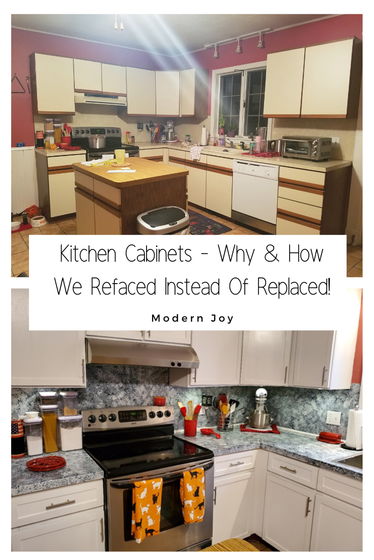 Kitchen Cabinets Why How We Refaced Instead Of Replaced Cheap Kitchen Cabinets Kitchen Cabinets Refacing Kitchen Cabinets