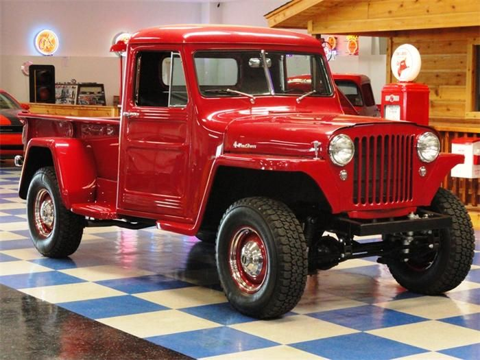 Willys Jeep Pick Up 1947 Willys Pickup 34900 Make Willys Model