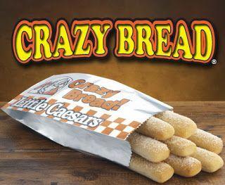 Nosh Cookbook Little Caesars Crazy Bread Recipe #bread #caesars #cookbook #crazy #little #recipe