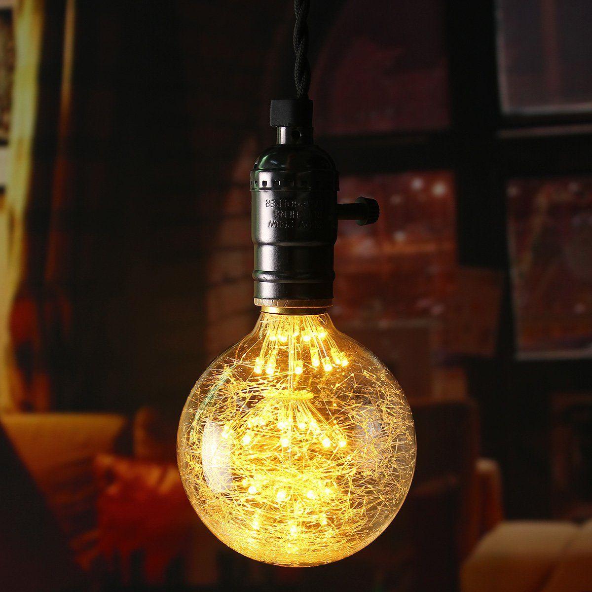Schön KINGSO LED E27 3W Edison Lampe Vintage Retro Stil Glühbirne 2300K Deko  Glühlampe Mit Zertifikat Warmweiß