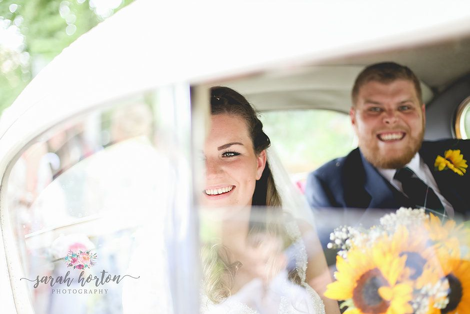 Katie Jamie Sunflower Wedding Theme Uk Sarah Horton