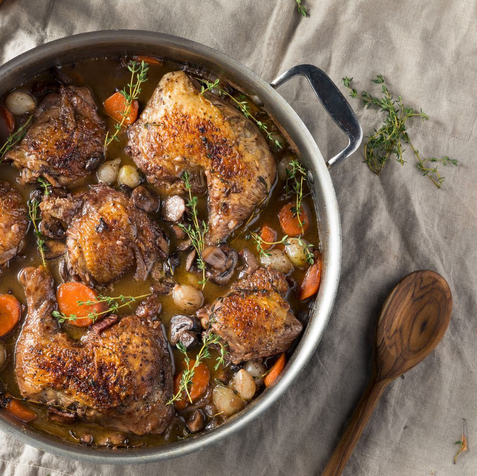 Mary Berry's coq au vin Recipe French chicken recipes