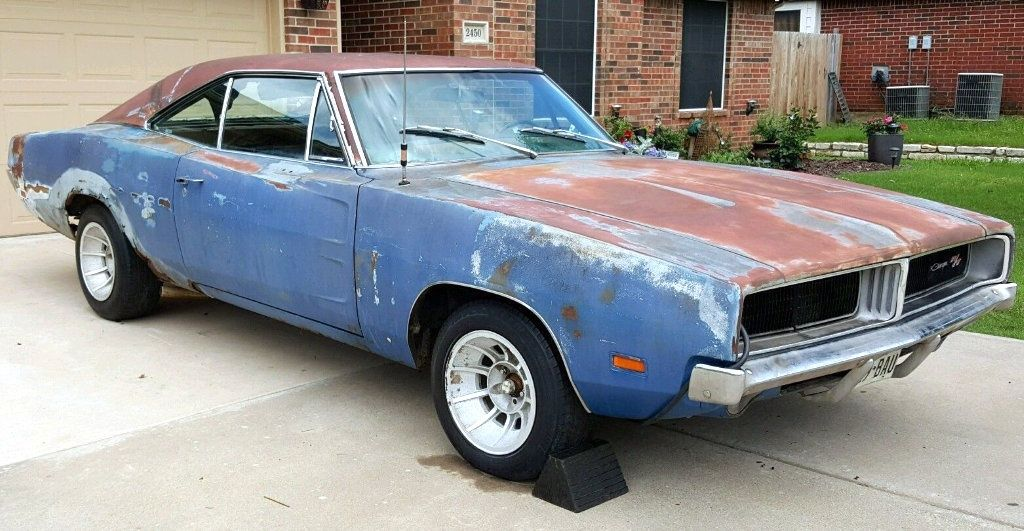 Ready To Scare: 1969 Dodge Charger - http://barnfinds.com/ready-to ...