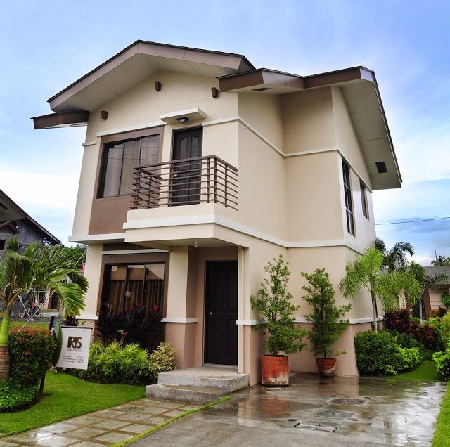 33 beautiful 2 storey house photos house exterior for Small house exterior design philippines