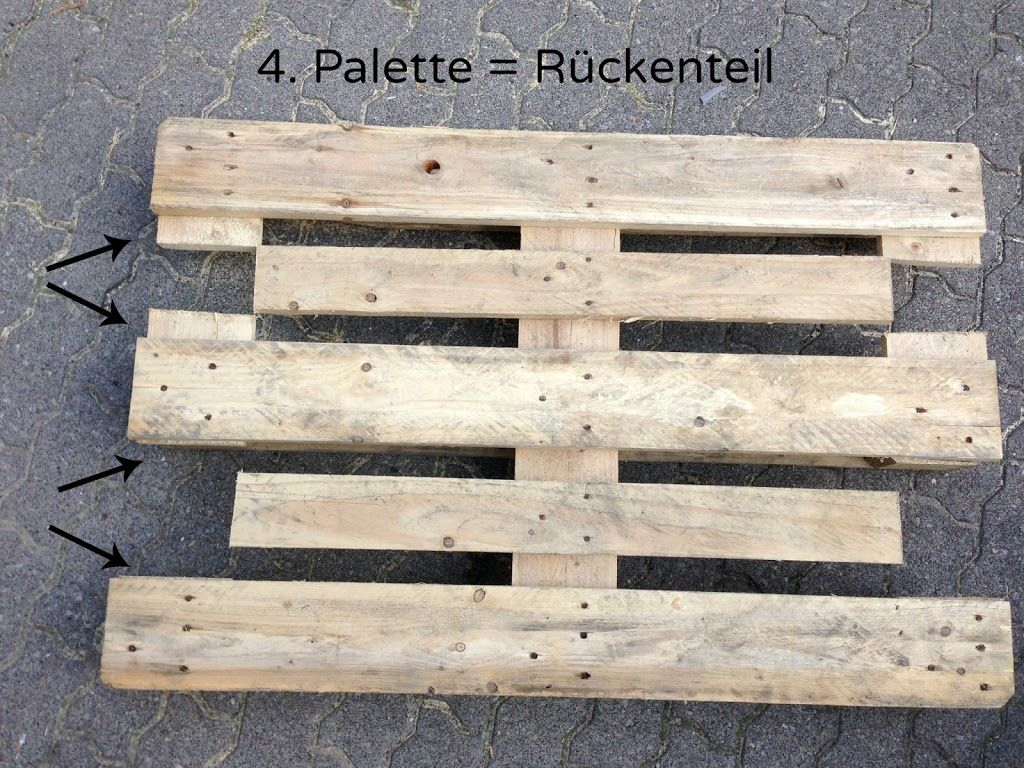 Möbel aus Paletten bauen - Anleitung | Pallets and Furniture ideas