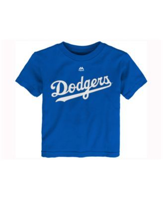 Majestic Toddlers' Corey Seager Los Angeles Dodgers Official Player T-Shirt - RoyalBlue 3T