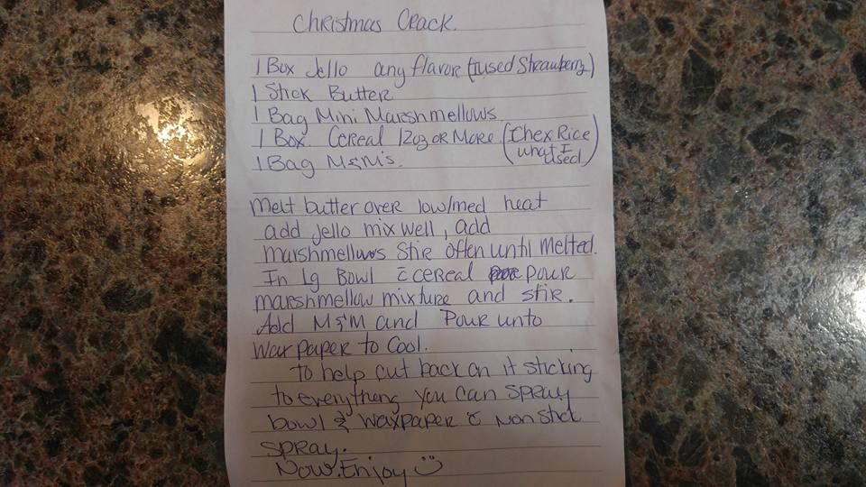 Pin By Krista Mortensen On Holiday Ideas Jello Personalized Items Chex