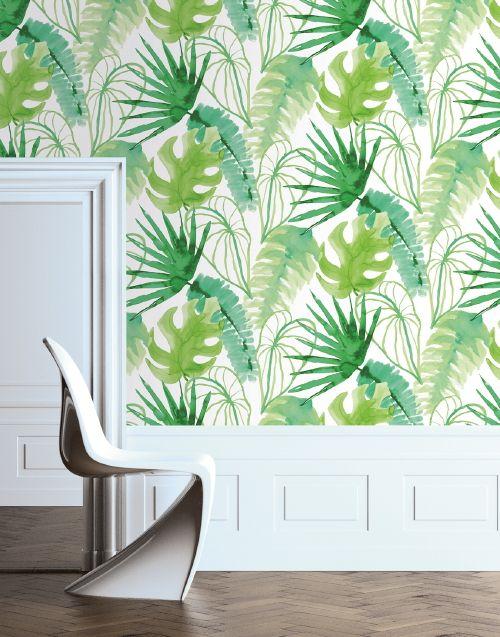Behang Trend | Brighten Up Your Wall! - Natuur & Bladeren Behang van ...