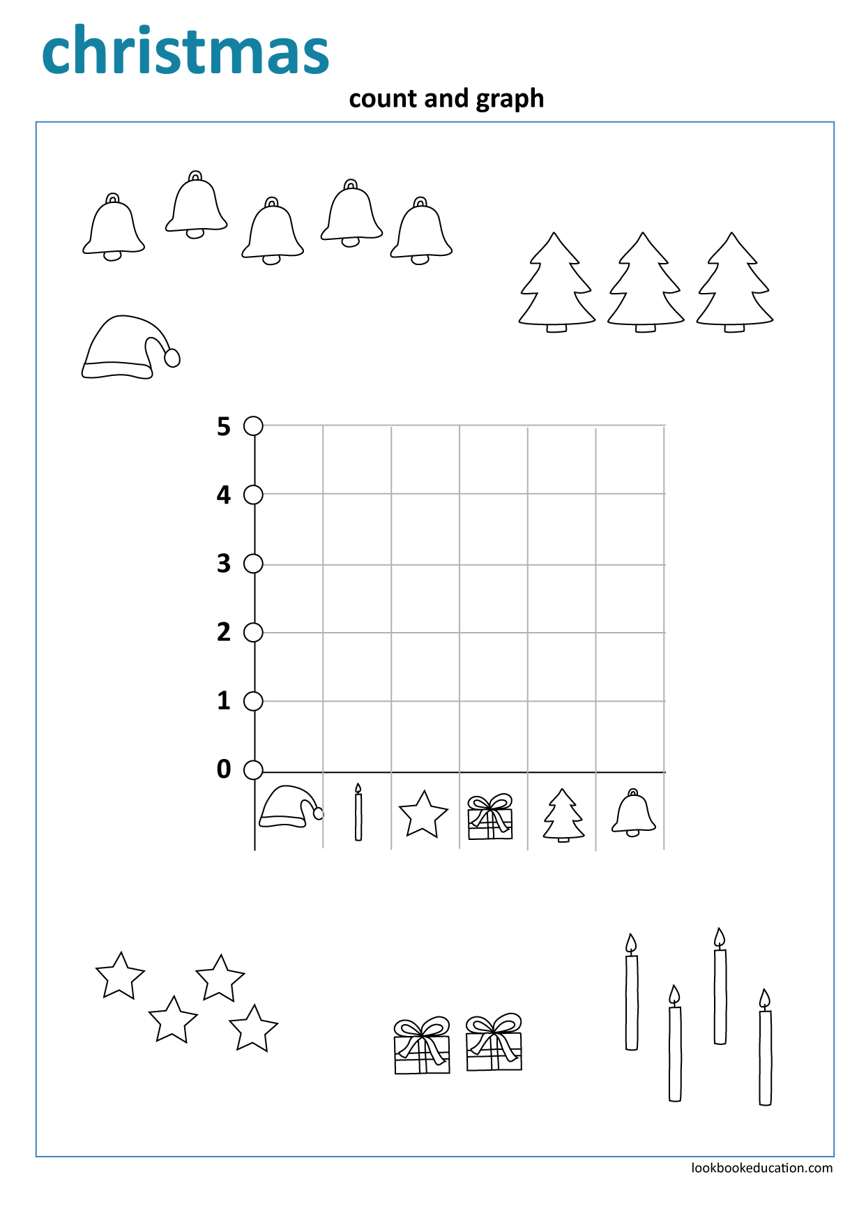 Worksheet Christmas Count Graph Worksheets Graphing First Grade Worksheets [ 1756 x 1242 Pixel ]