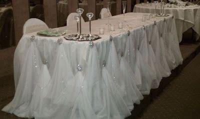 The King And Elegant Wedding Head Table Decoration Ideas Wedding