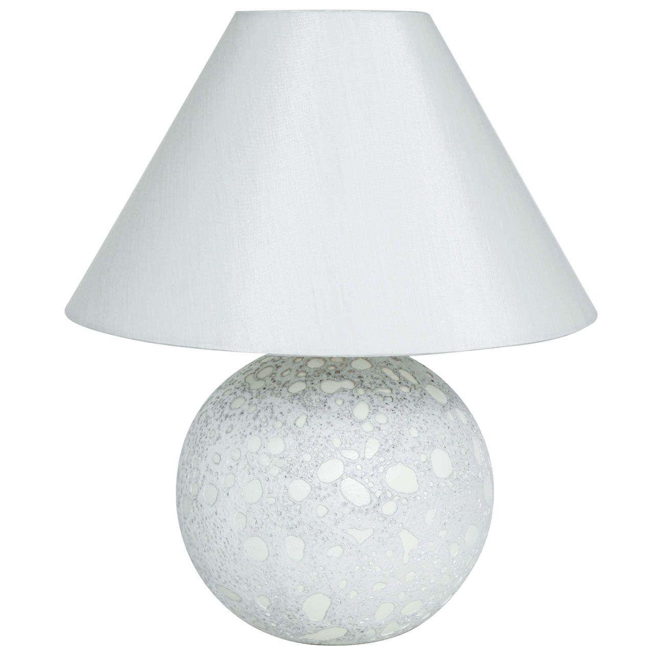 Modern ceramic table lamps - Jean Besnard Art Deco Ceramic Table Lamp