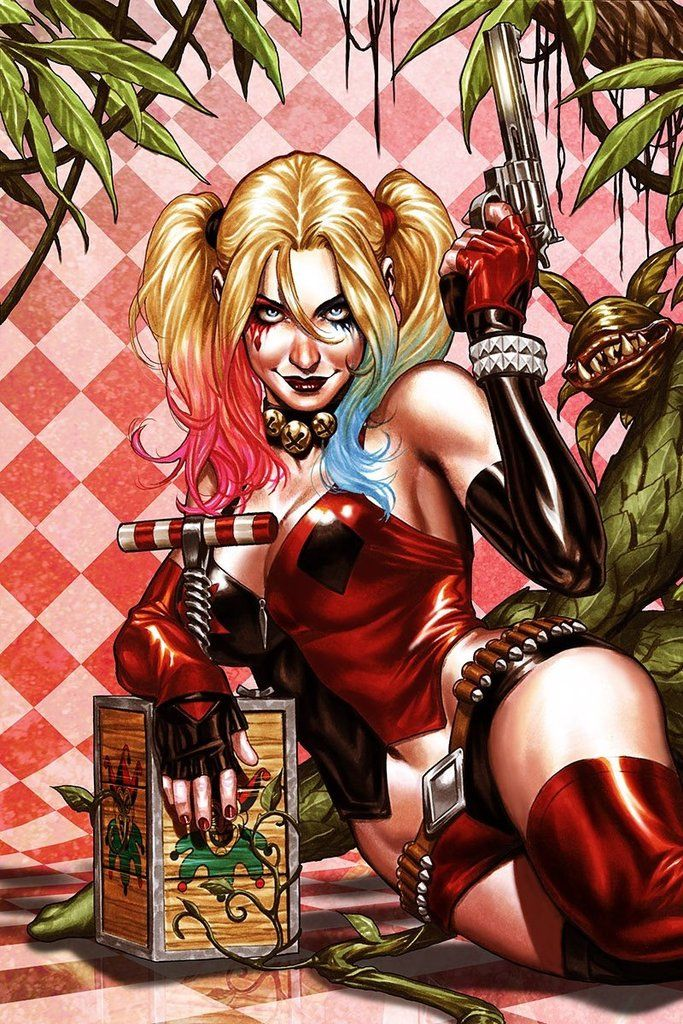 Harley Quinn by Mark Brooks