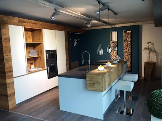 Kleine Küche mit Kochinsel - 5 grandiose Ideen! Pinterest