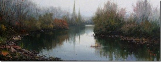 paisajes Pinturas al óleo de Miguel Peidro 13