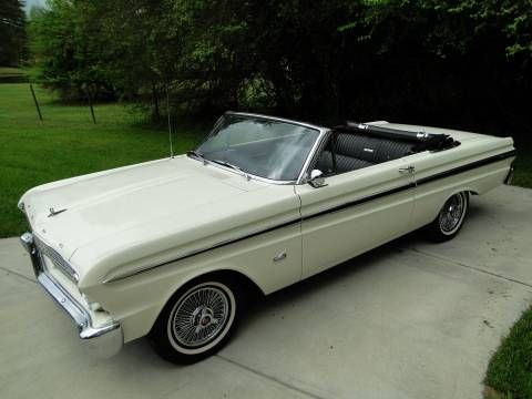 1965 Ford Falcon Convertible Image 1 Of 25 Ford Falcon Ford