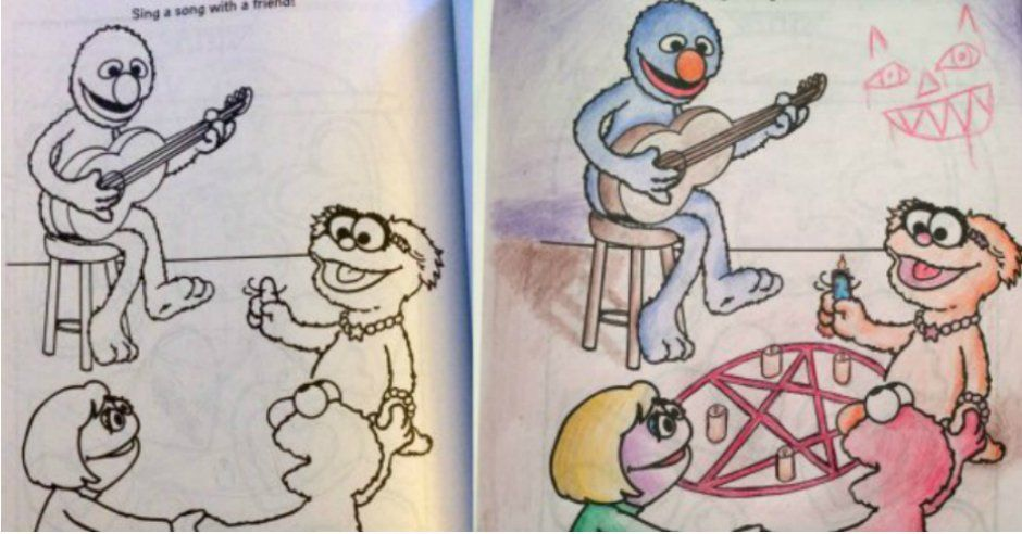 20 naughty coloring book pictures that are way outside the lines - Naughty Coloring Book