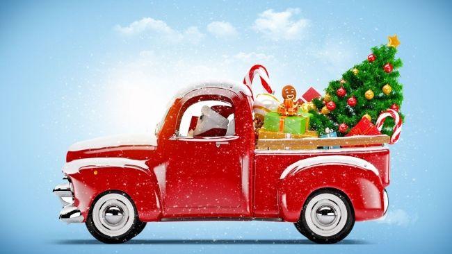 Weihnachtsbaum FüRs Auto hd hintergrundbilder weihnachten auto weihnachtsbaum dekorationen