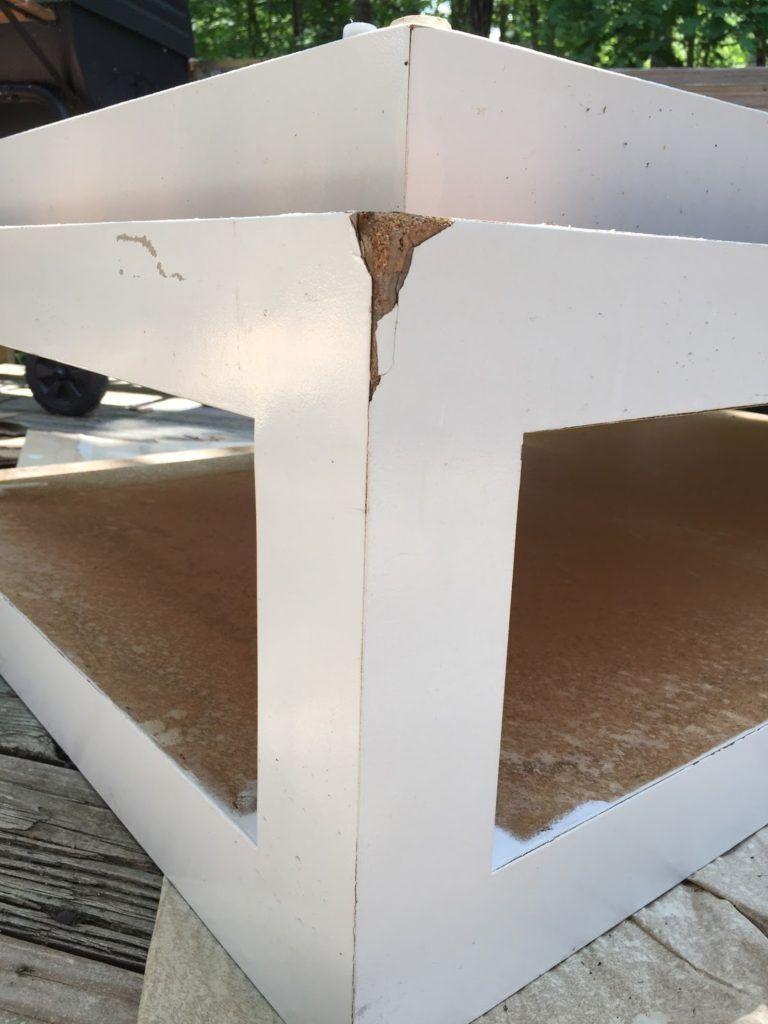 How To Fix Chipped Particle Board Furniture Repair