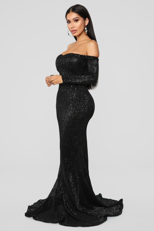 Got class sequin dress black in unspecified list