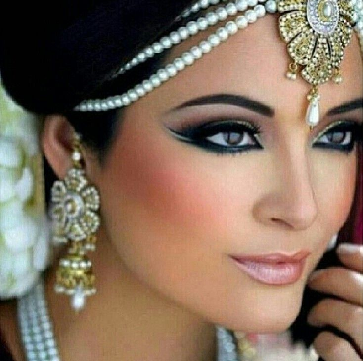 C Makeup And Co Inspiration Bridal Board Arabic Indian Brides Are Beautiful Wedding Trends 2016 Make Up Games Of