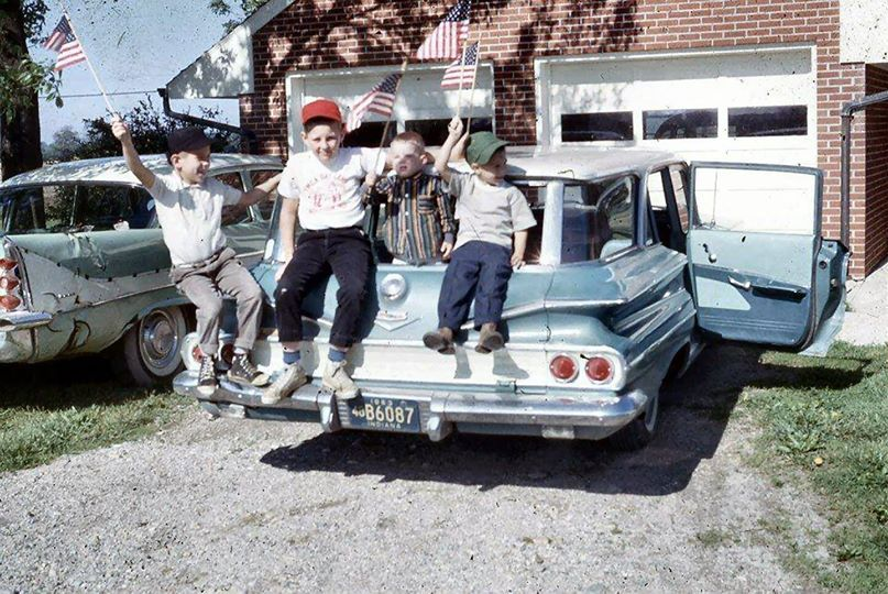 Happy Independence Day From A 1960 S Neighborhood Near You