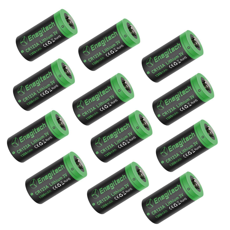 Powermall 12 Pack CR123A 1300mAh 3V
