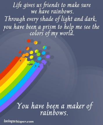 Rainbows Rainbow Quote Rainbow Inspirational Cards