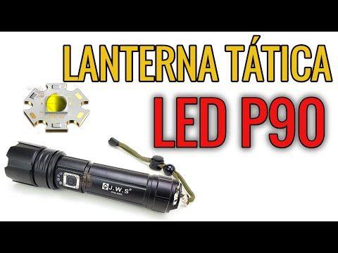A Lanterna Tatica Mais Forte Em 2020 Led P90 Com 3 000 Lumens