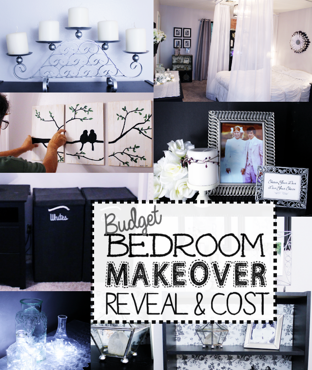 Cheap Do It Yourself Home Decor: Budget Bedroom Makeover Reveal & Cost