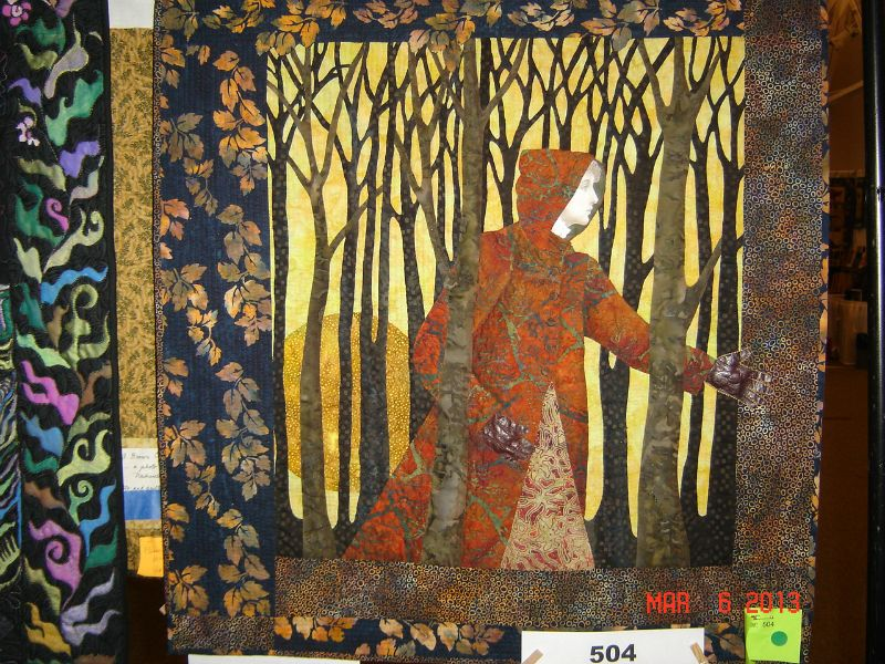 2013 IN Heritage Quilt Show:  Fabric Art - Honorable Mention