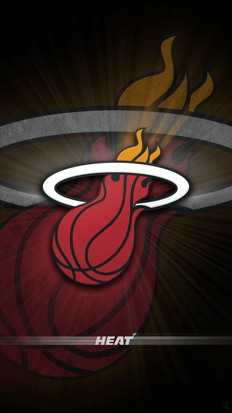 10 Best Miami Heat Wallpaper Iphone Full Hd 1080p For Pc Desktop Miami Heat Miami Heat Basketball Nba Wallpapers
