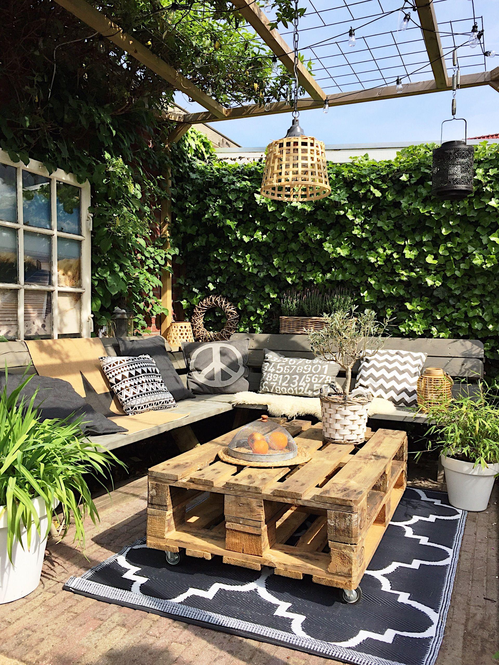 Tuin binnenkijken bij mijnhuis enzo casa pinterest - Jardins et terrasses photos ...