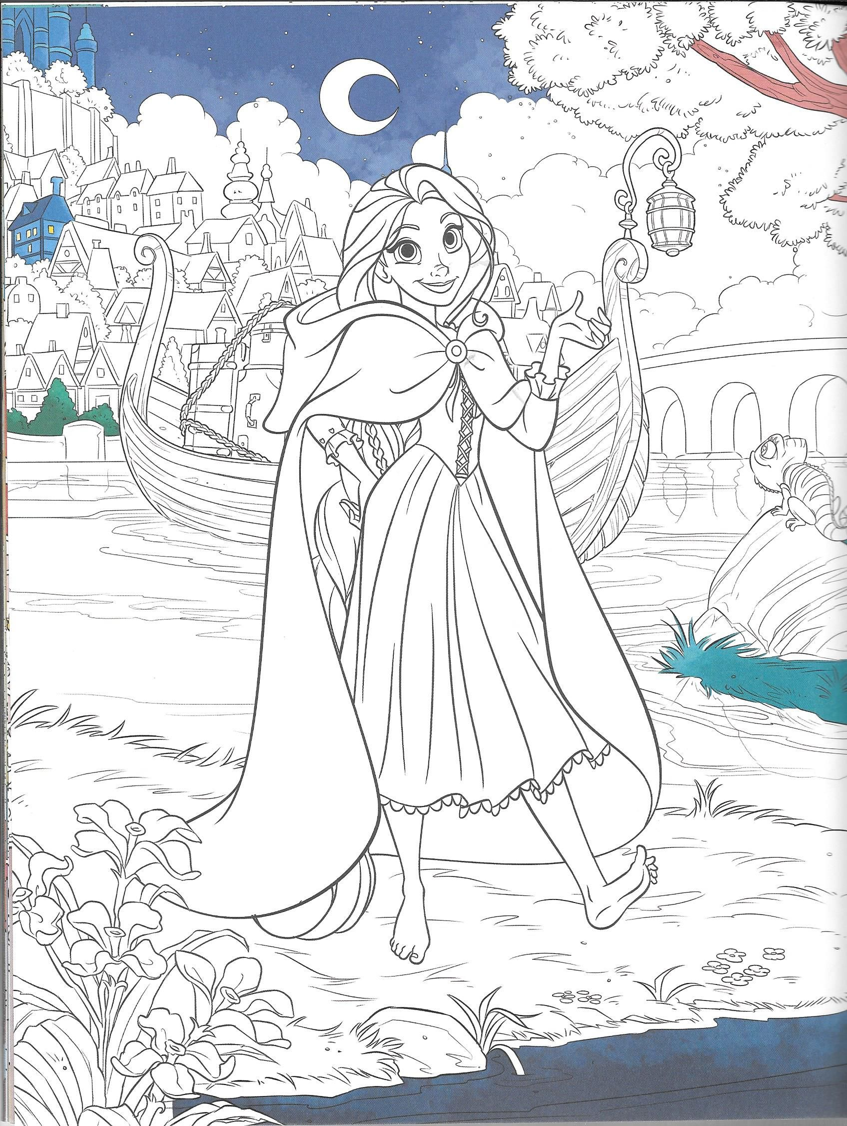 Pin By Angel Wolfie Gonzalez On Coloring Pages Disney Coloring Pages Tangled Coloring Pages Disney Princess Coloring Pages