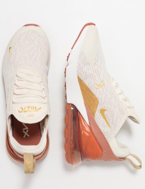 bdbdb144 AIR MAX 270 - Sneakers laag - light cream/metallic gold/terra blush ...