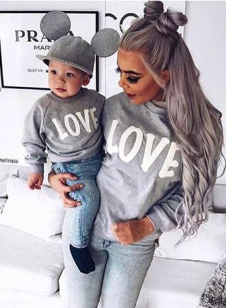 3cb351859c OH my gosh super adorable mother child matching sweatshirts!